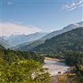 Calm Morning in Nepal Himalayas