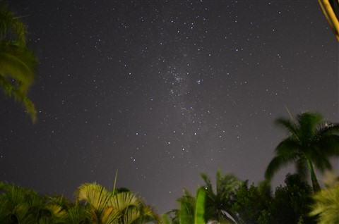Milky Way on the Verandah