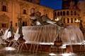 Foutain in Valencia