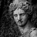 Italian statue BW