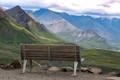bench in denali national park