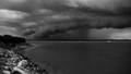 coming storm over darwin harbour