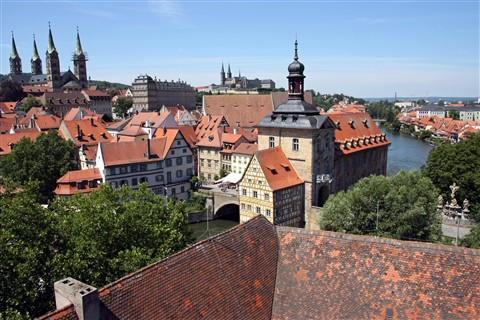 Rooftops over Bamberg