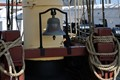 Ship`s Bell from the Old Frigate Jylland (Jutland)