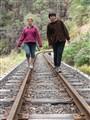 Walking the tracks at Walhalla