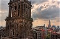 Mexico City - Cathedral & Torre Latinoamericana