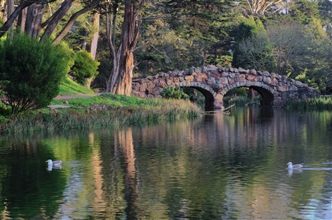 Stone Bridge at Stow Lake, 2