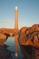 Gabo Island Lighthouse and Reflection