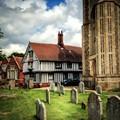 Suffolk churchyard