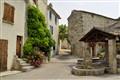 Idyllic Village Scene,  La Drome.