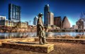 Stevie Ray Vaughn Guards Austin Texas