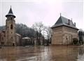Tour et eglise, Piatra Neamt