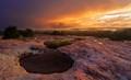 Arabia Mountain Glow