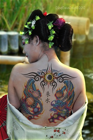 Geisha Tatoo