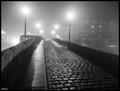 The bridge on the fog