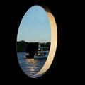 Boat on Zambezi River