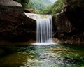 Waterfall near Huangshan, China