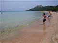 Beach tennis...