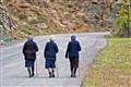 Walking in mature age