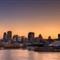 Montreal-skyline-with-Cirque-du-Soleil-tent