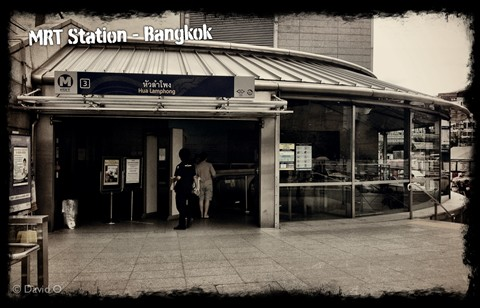 Bangkok Subway Station