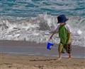 Male Child on Beach 2
