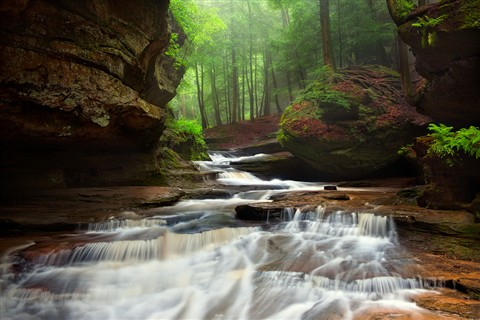 hocking hills stream