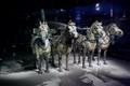 Terracotta war-horses.