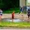 Kids after rain, June in Poltava