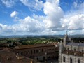 Clouds Above Siena