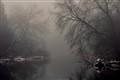 River fog..