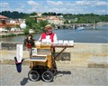 One old organ grinder