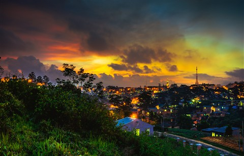Da lat sunset (Vietnam)