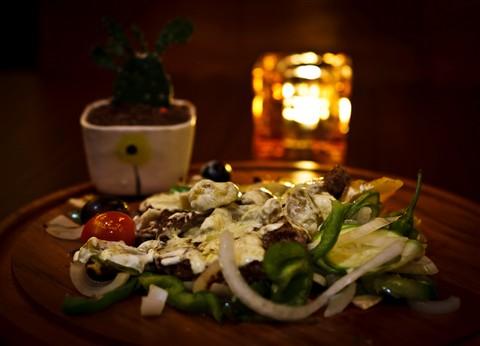 Fillet  Steak  With Mushroom Sauce