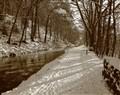 Snow 001 Cromford Canal Nov 2010 10 x 8