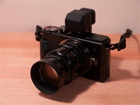 GX1 Voigtländer 75mm f2.5 Color Heliar