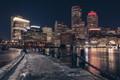 Fan Pier at night_
