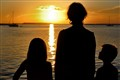 Florida Sunset with Grandchildren