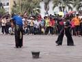 Kuda Lumping street performance