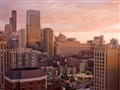 Sunset over Chicago's River North