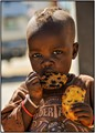 Hungry Himba child