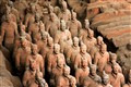 "terra cotta warriors.  xi'an, ""texas"""
