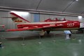 "The Chinese build hundreds of MiG-15's under the name of J-5. This 2-seat JJ-5 is preserved in the China Aviation Museum in Xiaotangshan, on the outskirts of Beijing and presented in the colors of the Chinese display team ""August 1st"" ."