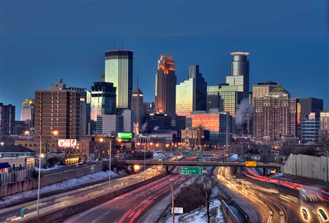 Minneapolis Skyline HDR