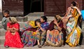 Mourning Women in Pashupatinath, Kathmandu, Nepal