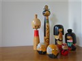 Kokeshi Dolls, Version 1