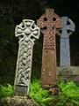 Grave stones at St Mewan