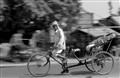 Old Rickshaw puller