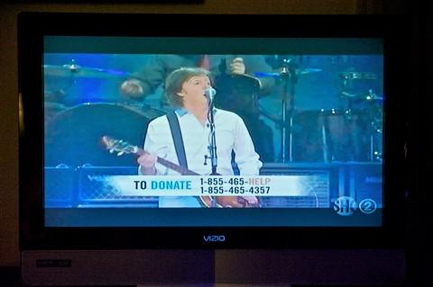 Sandy Relief concert