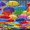 Umbrellas over Belgrade